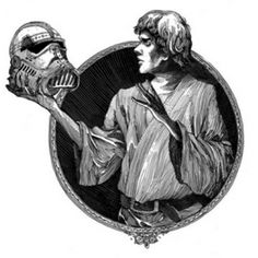 "Picture: Darth Vader in his mask, wearing a frill-collared shirt while speaking in Shakespearean verse. ""In time thy powers have weak become, old man,"" he says to Obi-Wan Kenobi as the two duel with their lightsabers. The scene is an excerpt from author Ian Doescher's hit debut mashup ""William Shakespeare's Star Wars: Verily, a New Hope."" The New York Times bestseller tells the story of Han Solo in five acts, in iambic pentameter."
