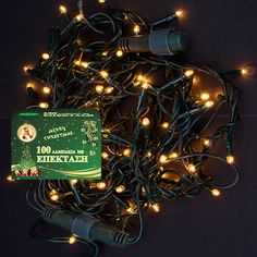 Χριστουγεννιάτικα Λαμπάκια Λευκά 100L Επεκτεινόμενα      100 λαμπάκια λευκά  Πράσινο καλώδιο  Μήκος καλωδίου με το φ... Led, Christmas Ornaments, Holiday Decor, Home Decor, Decoration Home, Room Decor, Christmas Jewelry, Christmas Decorations, Home Interior Design