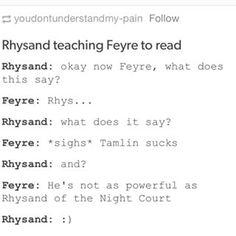 rhysand feyre - Google Search