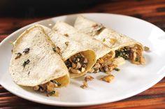 Quesadillas de champiñones | Cocina y Comparte | Recetas de Cocina al Natural