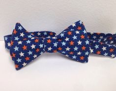 A personal favorite from my Etsy shop https://www.etsy.com/listing/235626435/rustic-american-mens-self-tie-bowtie