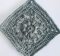 2020 New Year Stashdown Gorgeous Grannies Cal - Crochet a granny a day all through January. Joining Granny Squares, Gorgeous Grannies, Time Inc, Bookmark This Page, Small Blankets, Happy New Year Everyone, Lap Blanket, Border Pattern, Fall Flowers