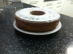 Vanilla cake with Lacta choc chips!!