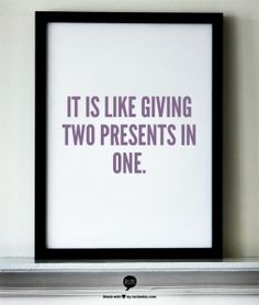 Shopping for good is like giving two presents in one. #ShopSmartGive