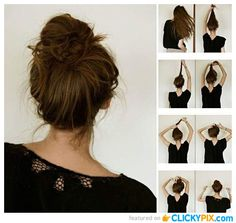 yeni moda kolay saç modelleri ve yapılışları