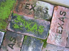 awesome old Texas bricks