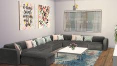 Room Decor, Decor, Furniture, Living Room Sims 4, Cute Living Room, Sims 4 Cc Furniture Living Rooms, Room