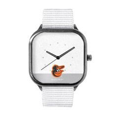 Baltimore Orioles Modify Watches Washed Metal Watch