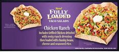 I& been playing around with making restaurant food at home for quite some time now and have come up with a quick and easy way to make Taco. Nacho Salad, Taco Bell Recipes, Salad Rolls, Nutritional Cleansing, Nutrition Bars, Ranch Chicken, Ranch Dressing, Restaurant Recipes, Copycat Recipes