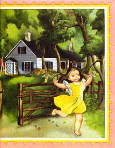 Eloise Wilkin ~ The world of childhood was so innocent in the 50s. I am sure not for some, but this is the way I remember it.