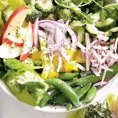 Garden Cucumber Salad Recipe with Tuna and Sweet Basil [from ...