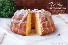 Babka wielkanocna parzona, najlepsza - przepis - I Love Bake Bundt Cake Pan, Cake Pans, Cranberry Jam, Grilled Peaches, Polish Recipes, Polish Food, Butter Pecan, Banana Split, Crab Cakes