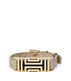 of course i'll need an actual fitbit to put inside it.....TORY BURCH FOR FITBIT METALLIC LEATHER BRACELET
