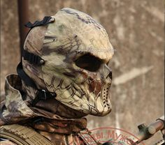 Livraison gratuite camouflage tactique masque militaire wargame paintball masque airsoft crâne masque déguisement effrayant mascaras halloween dans Masques et lunettes de Nouveauté et une utilisation particulière sur AliExpress.com | Alibaba Group