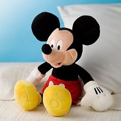 Mickey Mouse Toys, Baby Mickey, Miki Mouse, Disney Plush, Letter B, Cute Toys, Baby Boy Rooms, Classic Toys, Baby Elephant