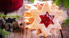 Weihnachtlicher Keks in Sternform