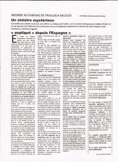 Affaire Marti Raymond: MËMOIRE PERSONNEL DEUXIËME PARTIE relaté au (chapi...