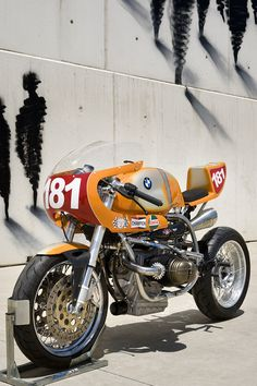 BMW R80 A joint venture between XTR PEPO and MAX BOXER