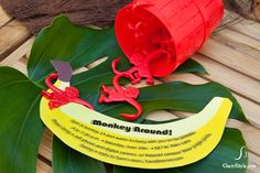 Go bananas with this party invite.