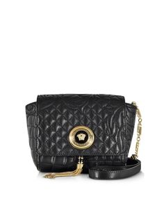 e78e1c5ede6e Versace Barocco Quilted Leather Shoulder Bag  1