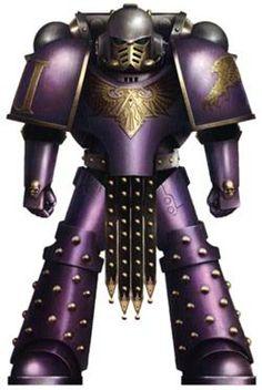 Pre-Heresy Emperor's Children Legion Colour Scheme