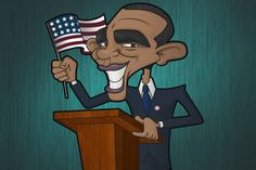 my obama illustration - www.nicolaguest.com
