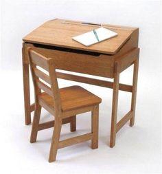 escritorio pupitre para niño con silla para estudio vbf