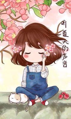 萌萌图 可爱的小薇 可爱 头像 壁纸 - 堆糖 发现生活_收集美好_分享图片