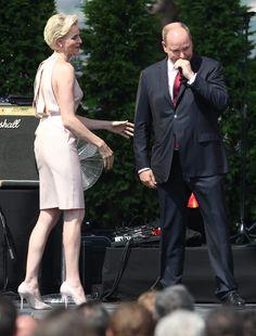Aplausos para Charlene tras declarar su amor al 'príncipe' de su 'corazón' - Foto 2