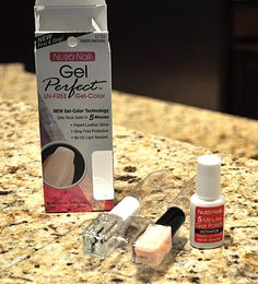 DIY GEL MANICURE: 1. Apply 1 thin (but enough for coverage) coat of 5 Minute Gel Polish.  2. Apply Base Coat (1 coat of 3 way glaze).  3. Apply 2 coats of colored polish.  4. Finish with a coat of 3 way glaze.