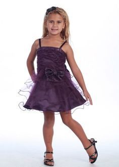 Plum Layered Tulle Dress with Sequence