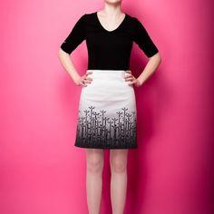 City Flowers Skirt, designed by s.wert, http://www.s-wert-design.de