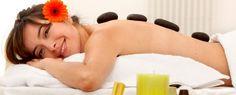 Masaje con Piedras Calientes más Terapia de Relajación http://cl.letsbonus.com