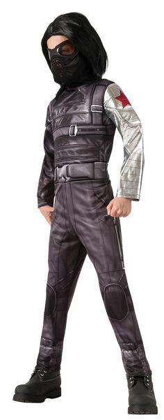 Captain America 2 - Deluxe Boys Winter Soldier Costume