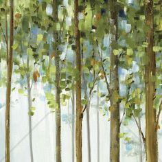 Forest Study 2 - Wall Mural & Photo Wallpaper - Photowall