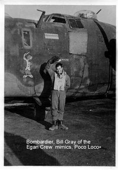 "B-24 Liberator - ""Poco Loco""."