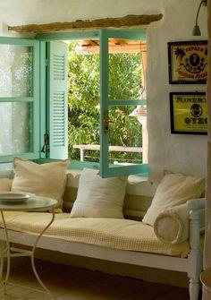 Casa Tradicional Griega   La Bici Azul: Blog de decoración, tendencias, DIY, recetas y arte
