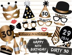 399 GBP 26Pcs 30Th 40Th 50Th Birthday Party Decoration Masks