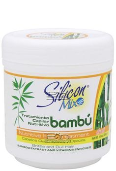 Avanti Silicon Mix Bambu Nutritive Hair Treatment 16oz :: Silicon Mix My hair was so dull and this made it super shiny and strong LOVE HIS PRODUCT
