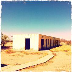 deserted motel. AZ
