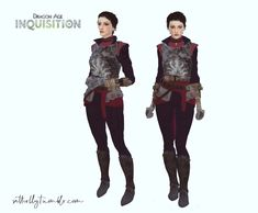 Dragon Age: Inquisition - Cassandra Outfit [#ts4_adult_fullbody] [#ts4_bacc_human] [#ts4_eras_g5]