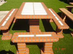 mesas de ladrillos - Buscar con Google
