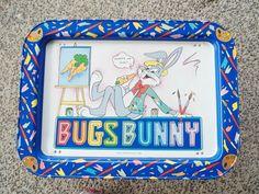 Vintage Bugs Bunny Lap/Tv Tray  1982 Warner by VintageCellarDoor, $15.00