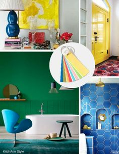 PantoneView Home + Interiors 2018 Trend - Playful | KitchAnn Style