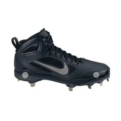 Mens Nike Carbon Elite Baseball Cleats Gray Mesh - ONLY $139.99