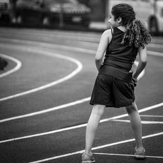 Leyla competed in her first track meet today. So proud of my little girl who competed in triple jump 4x100 and 800m. #trackandfield #middleschool #running #marlowe #manualfocus #sonya7 #canonfdlens #monochrome
