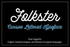 Folkster by jeffportaro on @creativemarket