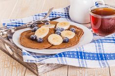 Blueberry Buckwheat Pancakes: You will never forget to eat breakfast with these antioxidant-full pancakes.