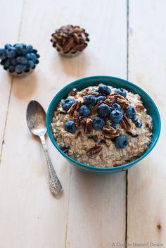 blueberry pancake overnight oats