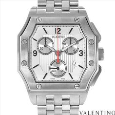 $319.00  VALENTINO V39LCQ9902 S099 Made in Switzerland Brand New Gentlemens Chronograph Date Watch